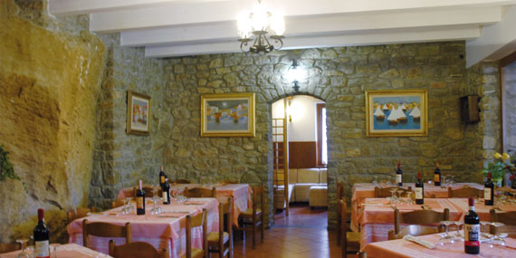 The restaurant with Tuscan cooking